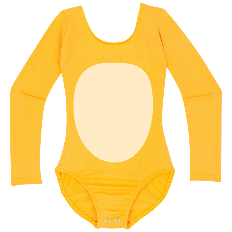 Lion King or Pikachu Girls Costume Bodysuit