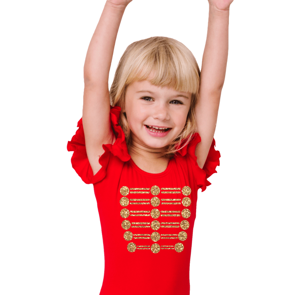 Ring Master Leotard Costume for Girls and Toddlers