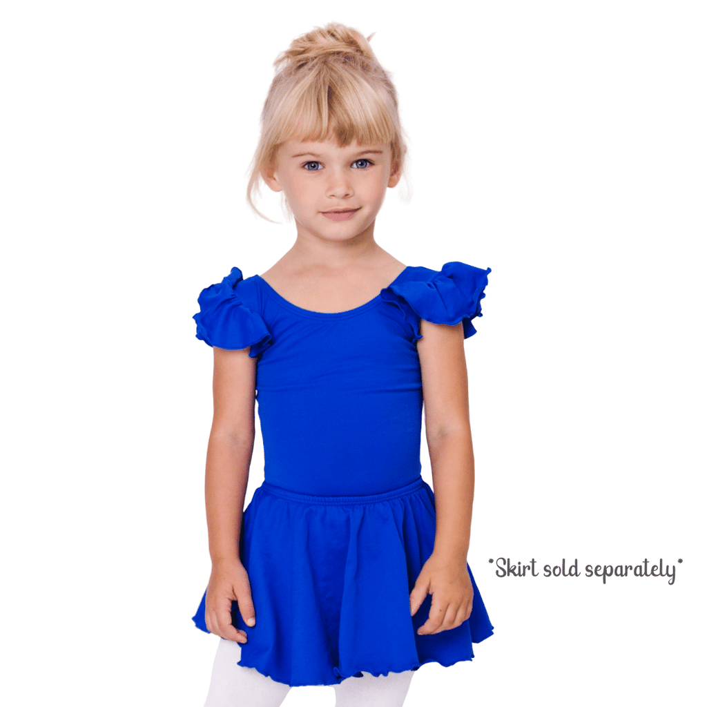Royal Blue Dance Leotard for Girls
