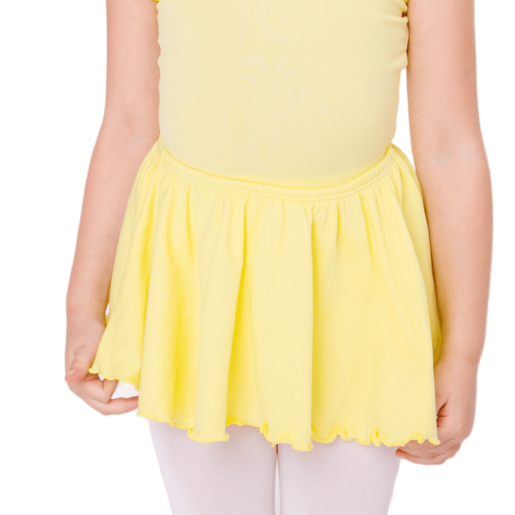 Yellow Dance Skirt for Girls and Toddlers