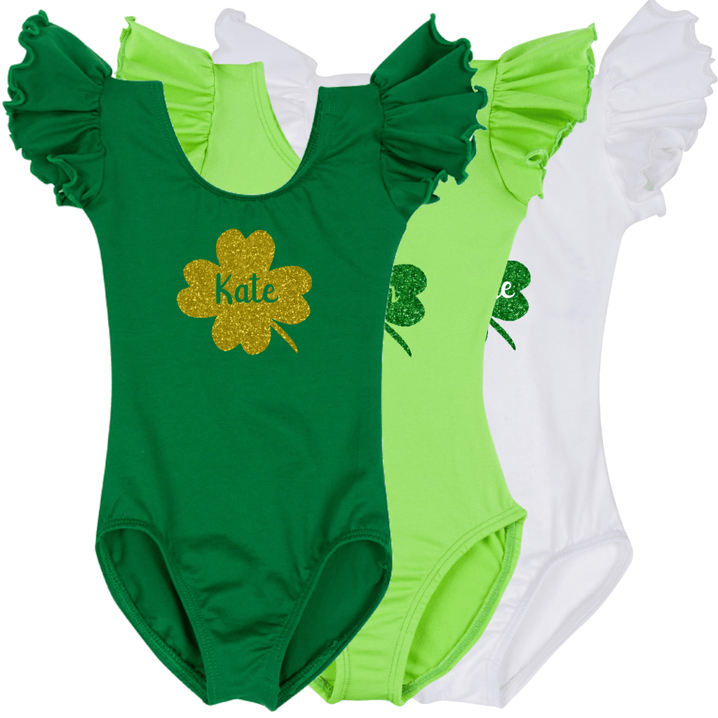 Personalized St Patrick's Day Girls Shirt