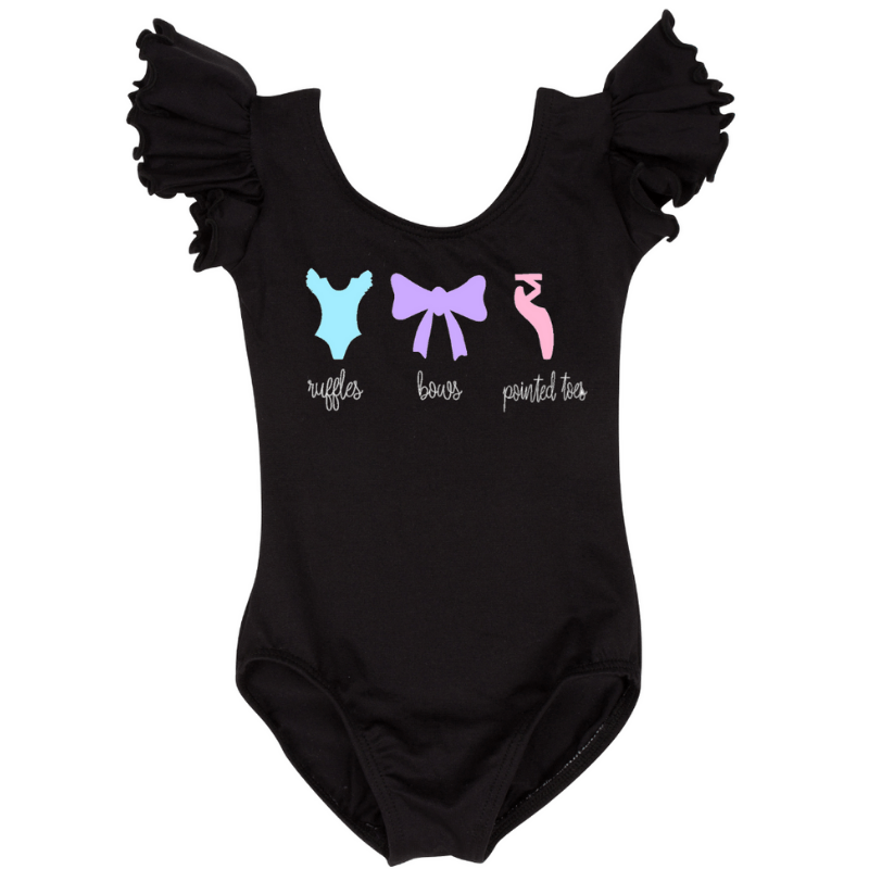Toddler Ballet Dance Leotard - Black