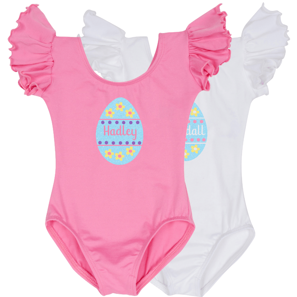 Easter Egg Personalized Girls Bodysuits