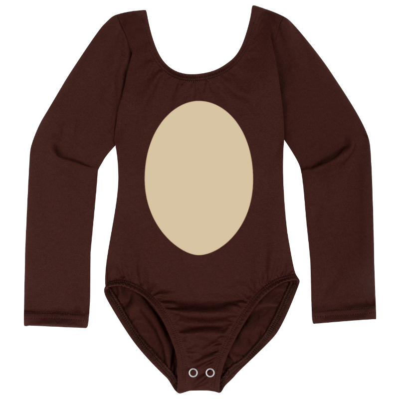 Baby and Toddler Girls DIY Monkey Halloween Costume