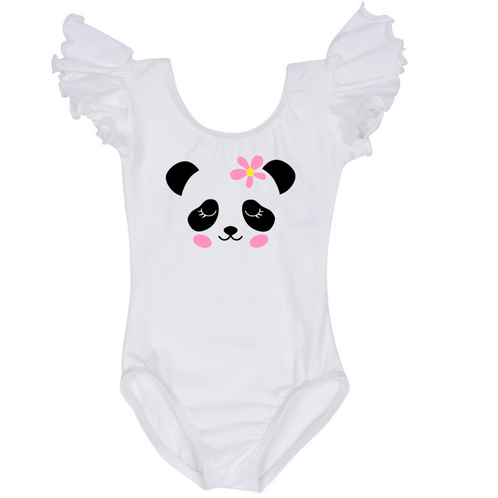 Panda Birthday Party Girls Clothing