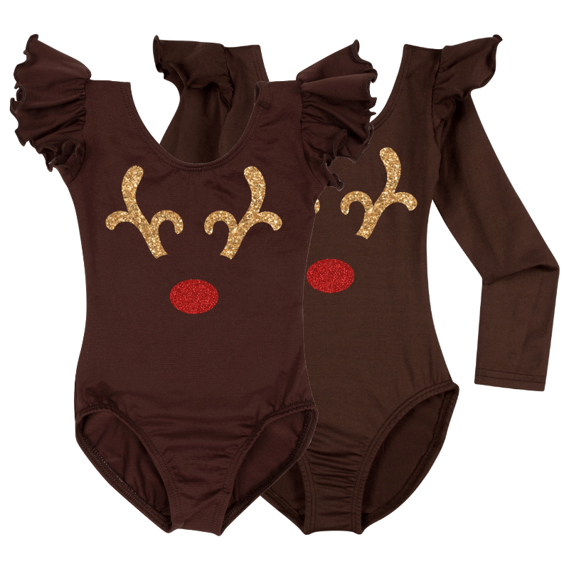 Rudolph Baby, Toddler & Girls Bodysuit Top