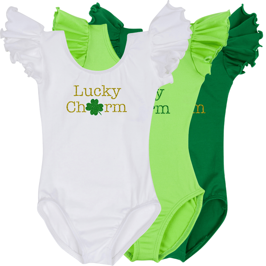 Toddler Girl Lucky Charm St. Patrick's Day Outfit