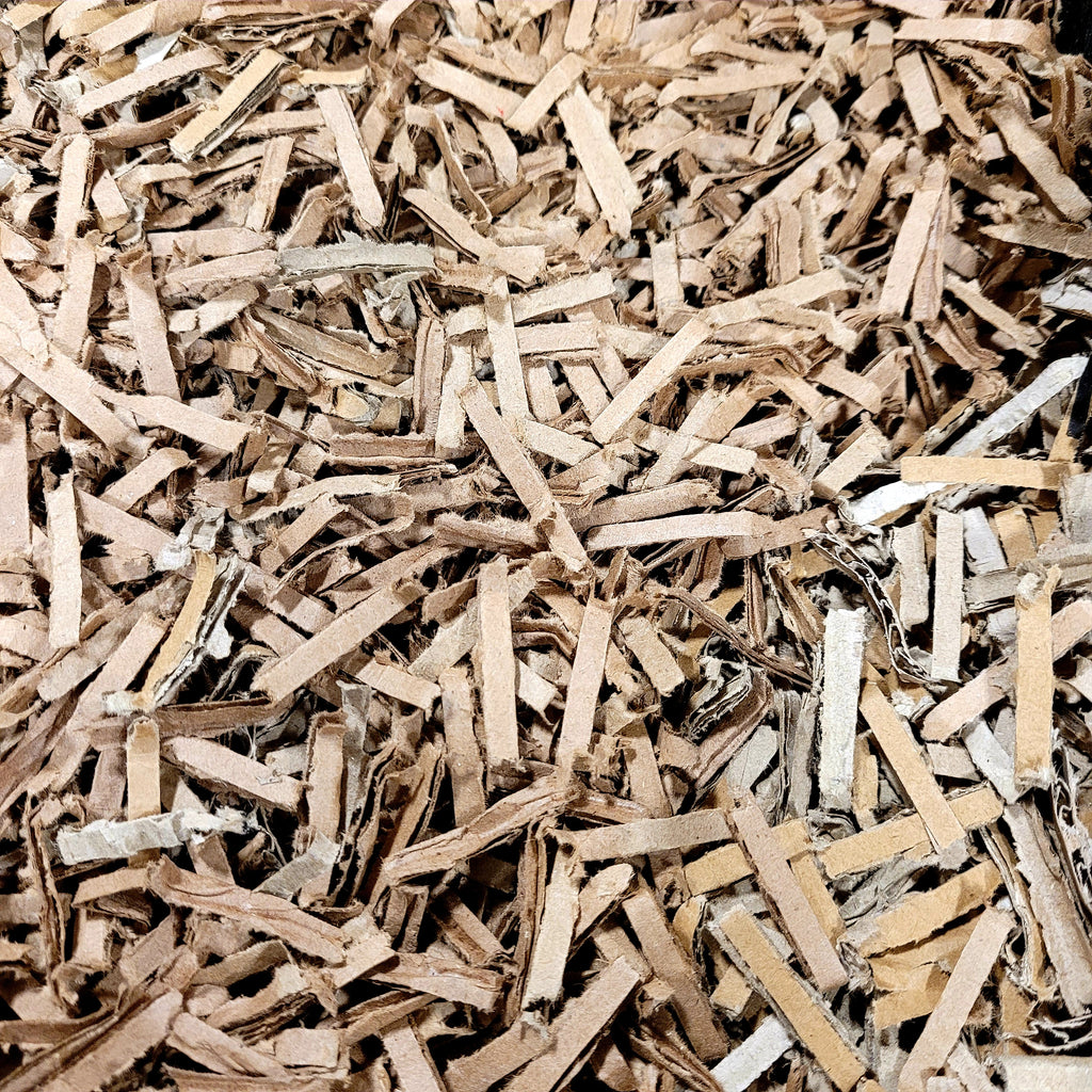 Shredded cardboard - Vermicomposting bedding