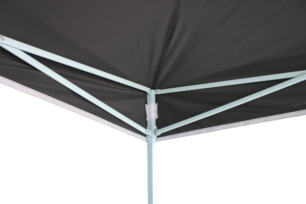 3x3m Popup Gazebo Party Tent Marquee -Black