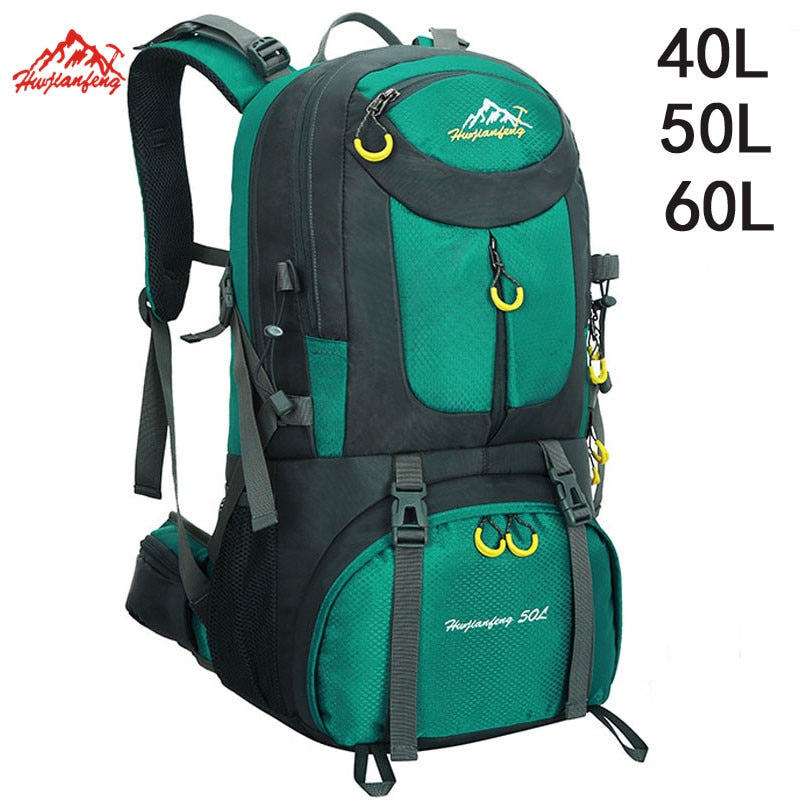 40L 50L 60L Outdoor Waterproof Backpack Mountain Climbing