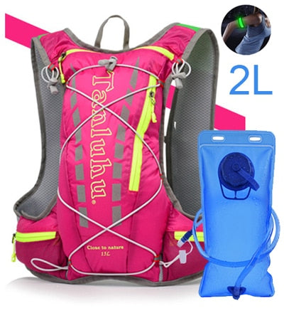 Lightweight Running Hydration Vest Backpack 15L Outdoor Trail Running Marathon