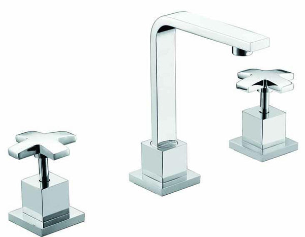 3pc Basin Tap Faucet Set - Bathroom Laundry Sink