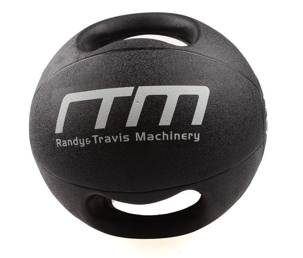 10kg Double-Handled Rubber Medicine Core Ball