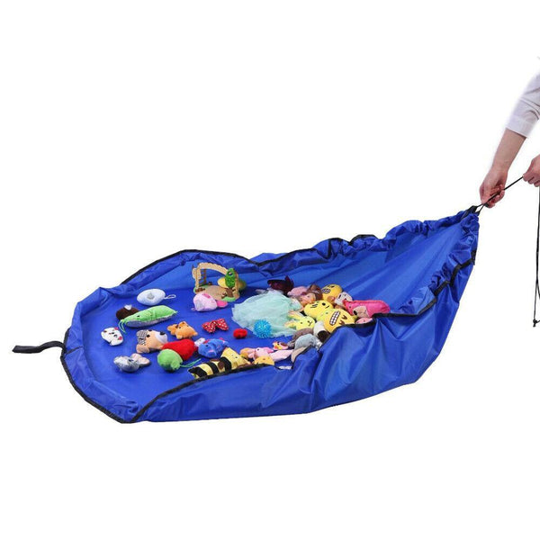 1.5M Kids Play Mat Bag Portable Toy Storage Organizer Lego Toys BrikBag