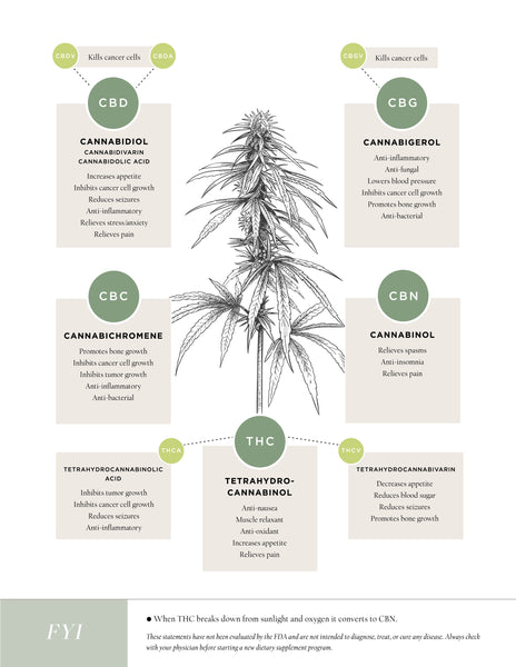 Hemp Flower Cannabinoid Chart