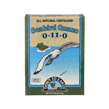 Use our high phosphorous Seabird Guano to dramatically increase both the amount and size of blooms throughout the flowering period for all indoor and outdoor plants. Seabird Guano greatly enhances beneficial bacterial activity in the soil, and because it's water soluble, it makes an excellent tea or foliar spray when filtered.