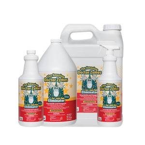 The Amazing Doctor Zymes' Eliminator is an OMRI listed, revolutionary green solution that kills and eliminates soft-bodied insects, molds and mildews on your indoor and outdoor gardens. The active ingredient, citric acid, is derived from a fermentation process and is combined with other biologically stimulating ingredients to form a highly effective insecticide and fungicide.