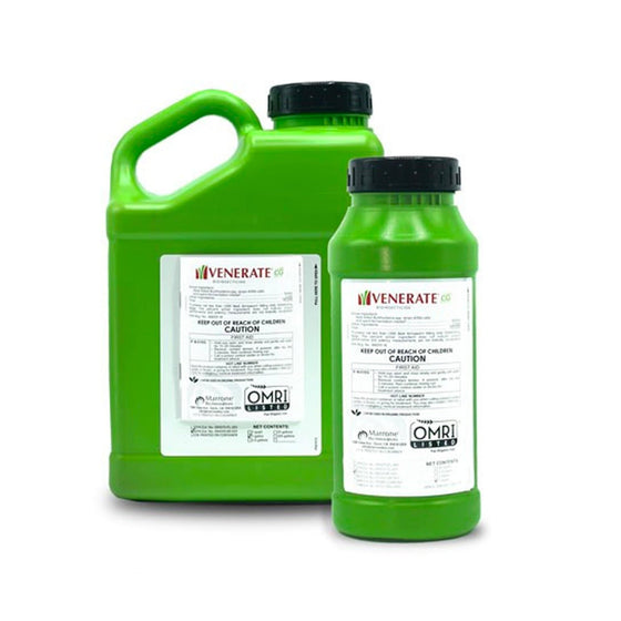 Venerate® CG advanced bioinsecticide features multiple modes of action and is effective against a wide variety of chewing and sucking insects and mites yet is easy on beneficials. Its unique and novel modes of action will complement and improve integrated pest management and insect resistance management programs.