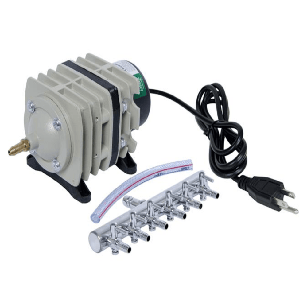 Load image into Gallery viewer, Active Aqua Commercial Air Pump, 6 Outlets, 20W, 45 L/min