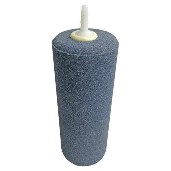 "Cylindrical Active Aqua Air Stone, size 2"" X 4"" which is helpful in adding oxygen to your hydroponic growing system."