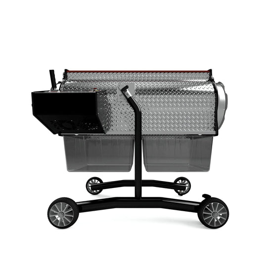 The Triminator XL Dry was built for business. With a trimming capacity of up to 60 pounds an hour, this dry bud trimmer is the fastest dry trimmer in the world.