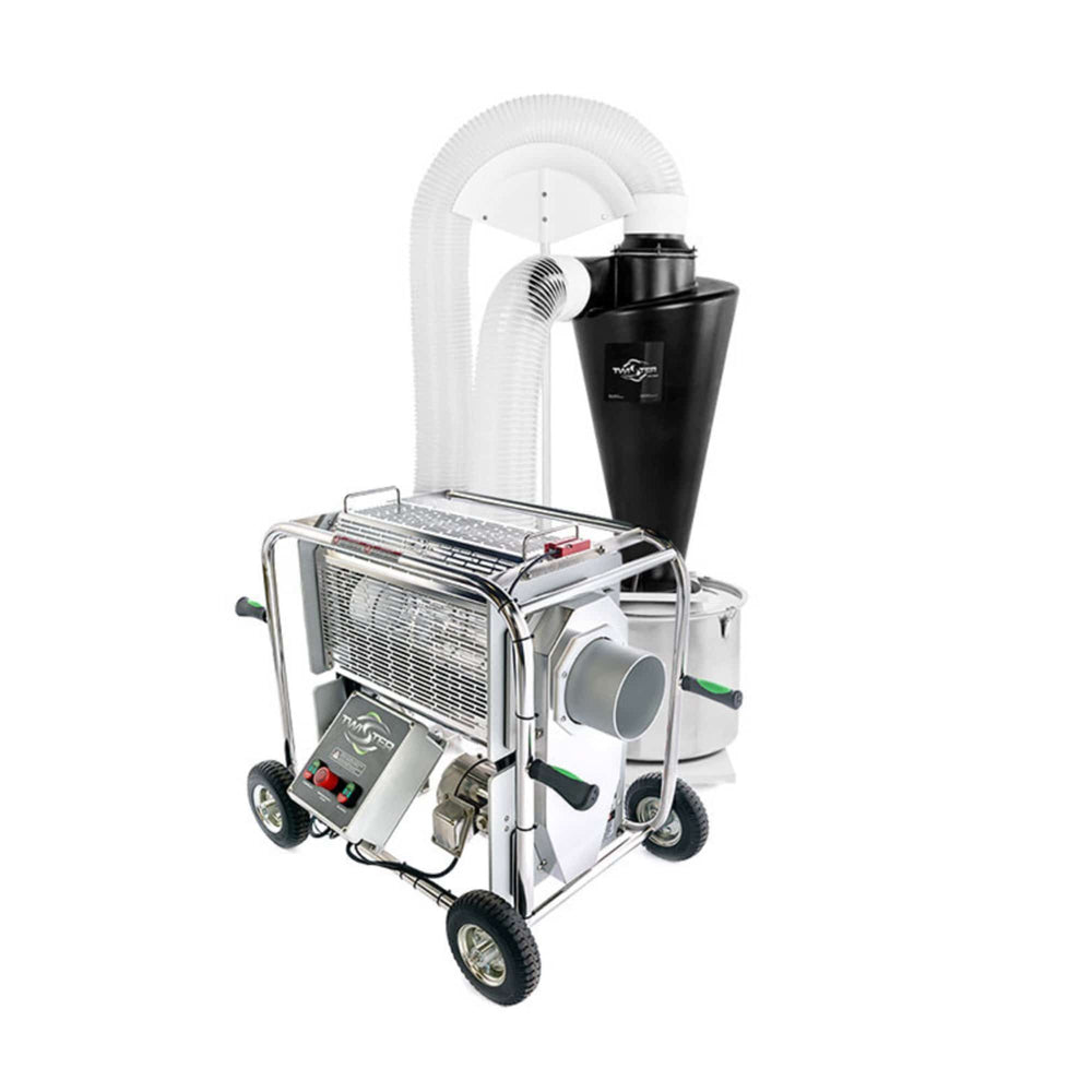 Twister Tandem T2S Trimming System with Trim Saver Vacuums & Standard Tumblers