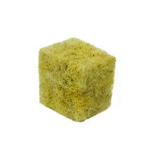This loose fill, non-bagged product consists of small stonewool croutons about the size of a fingernail. When you use this potting mix the miniature cubes stack on top of each other and air pockets are created throughout the pot.