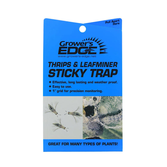 Grower's Edge® Thrip & Leafminer Sticky Traps