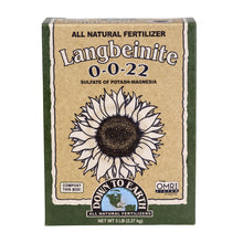Down To Earth™ Langbeinite (Sul-Po-Mag) 0 - 0 - 22 all natural fertilizer for hemp plants.