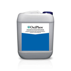 BioSafe OxiPho is a Bactericide & Fungicide used on greenhouse and nursery crops to Target Pythium, phytophthora, bacterial blights, downy mildew, and more.