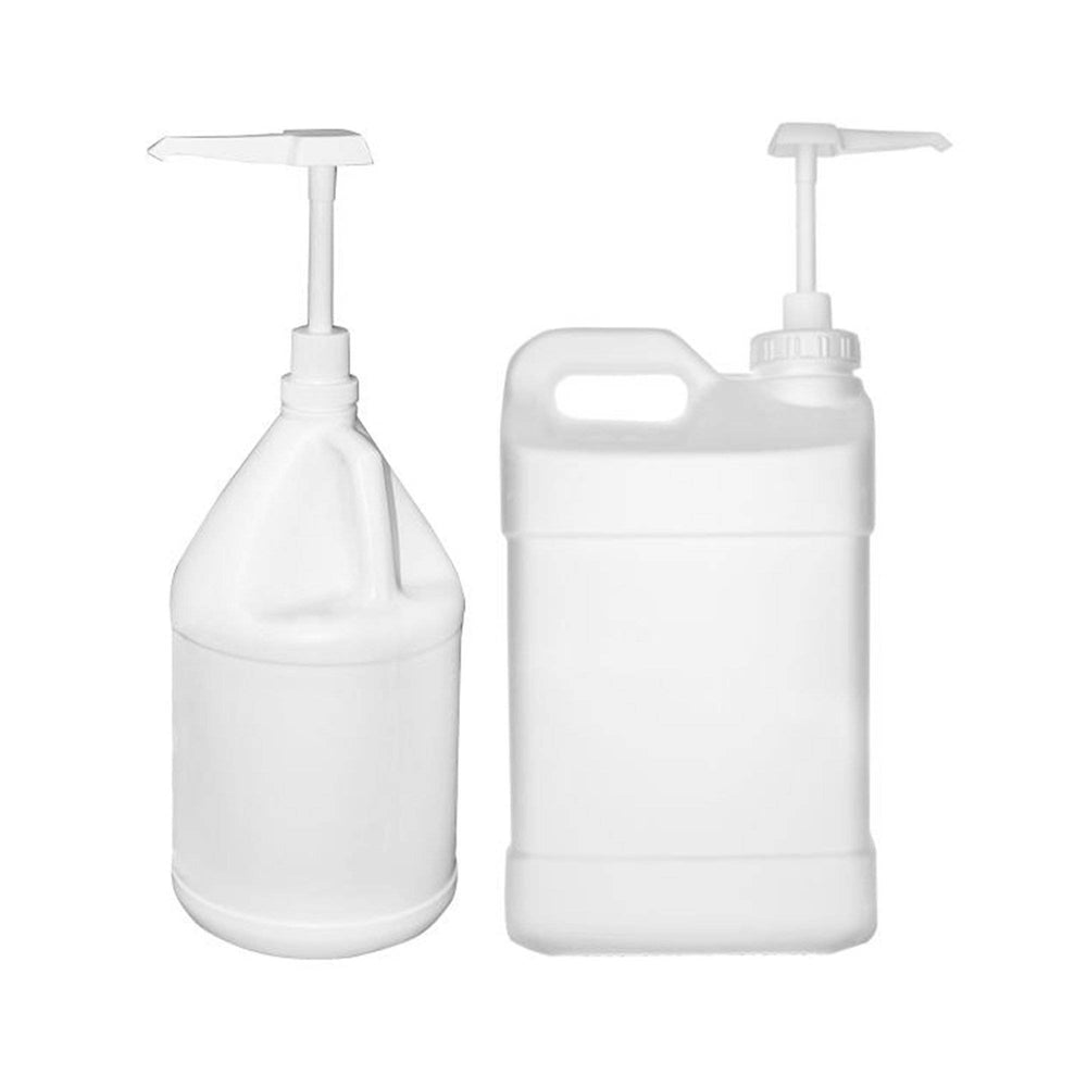 Great for quickly measuring and dispensing your liquid plant food and supplements! One pump dispenses 1 oz of liquid. #740040 is designed specifically to attach to a standard 1 gallon bottle (not included). #740042 is designed specifically to attach to a standard 2.5 gallon bottle (not included). Threaded body disassembles for quick and sanitary cleaning. Constructed from polypropylene and stainless steel for maximum chemical compatibility.