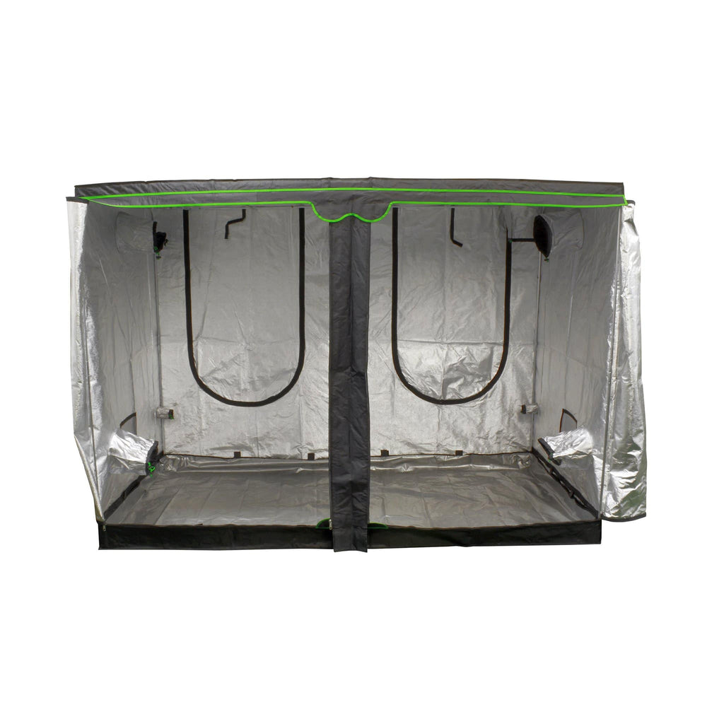 Load image into Gallery viewer, Sun Hut® The Big Easy® Grow Tents are enclosed greenhouses that have a durable, lightweight, and light-tight 190D outer material with a highly reflective interior. The Big Easy® has reinforced stitching in high-wear areas and has a new improved zipper, creating a rugged and durable grow environment.
