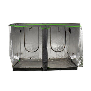 Sun Hut® The Big Easy® Grow Tents are enclosed greenhouses that have a durable, lightweight, and light-tight 190D outer material with a highly reflective interior. The Big Easy® has reinforced stitching in high-wear areas and has a new improved zipper, creating a rugged and durable grow environment.