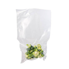 "Preserve and extend the shelf life of your dried herbs and food with these Private Reserve Vacuum Seal Bags for use with Private Reserve Vacuum Sealers. These thick, strong vacuum bags will help keep your goods fresh up to five times longer than traditional storage methods. They securely seal products with the Private Reserve Vacuum Sealers to ensure long lasting freshness, and feature an 11.8"" open end for sealing."