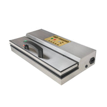 The Harvest Keeper® Commercial Vacuum Sealer with Instant Start Handle is a premium heavy-duty unit constructed from durable stainless steel and features a digital display with touch control to adjust settings. Preset options allow you to choose seal time, marinade mode and even manually control the vacuum using the pulse function, making this the most versatile sealer in its class. Once your settings are selected, simply press the instant start button on the handle and the sealer does the rest.