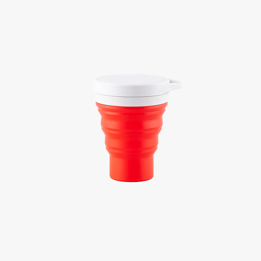 Silicone Retractable Cup - Red
