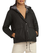 Load image into Gallery viewer, Barbour Naver Waxed Hooded Coat
