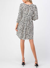 Load image into Gallery viewer, Floral Mini Smock Dress