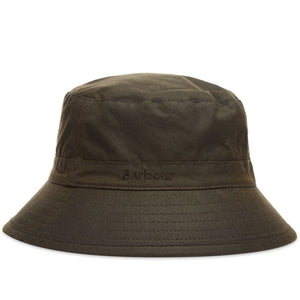 Barbour Wax Sports Hat - Olive