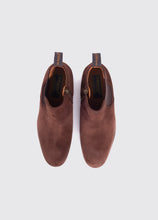 Load image into Gallery viewer, Bray Side Zip Chelsea Boot - Cigar