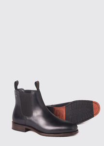Kerry Leather Soled Chelsea Boot - Black