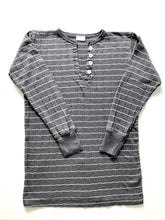 Load image into Gallery viewer, American Made Henley Tee - Grey