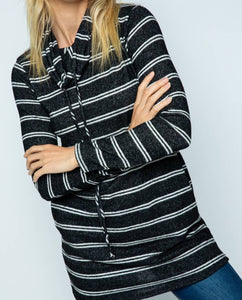 Twenty Second Soft Knit Tunic Sweater
