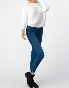 Solid Stripe Dolmain Sweater