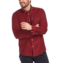 Load image into Gallery viewer, Barbour Cord Tailored shirt - Rust