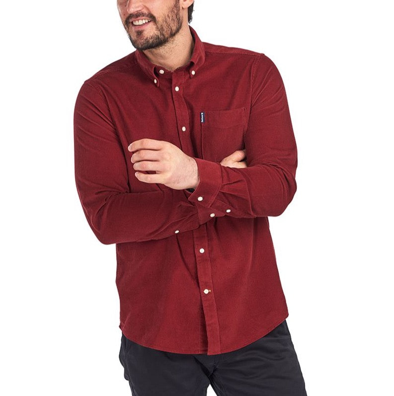 Barbour Cord Tailored shirt - Rust