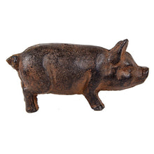 Load image into Gallery viewer, Cast Iron Pig