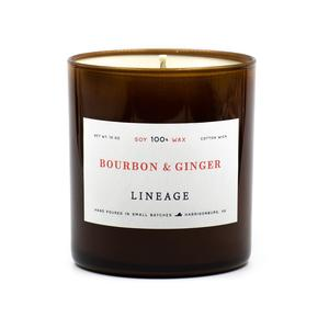 Lineage Bourbon & Ginger Candle