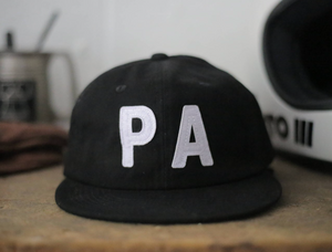 Pennsylvania Flat Brim Hat - Black