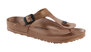 Gizeh Eva Birkenstock - Metallic Copper